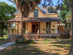 The Bidwell-Wood House, the oldest residence in Sarasota County, is the headquarters of The Historical Society of Sarasota County