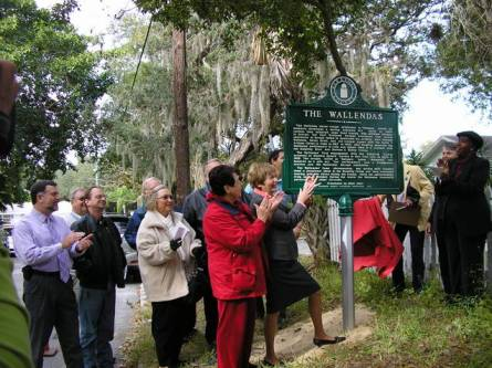 Sarasota FL: Wallenda family historic marker