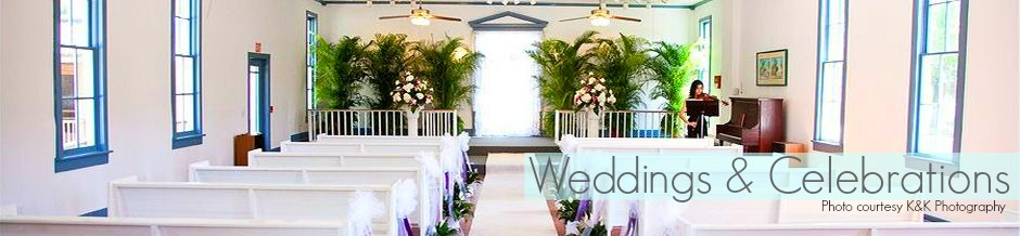 wedding header text