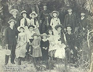 The Whitaker family, in Sarasota since 1843, and the Browning family, who came to Sarasota in 1885