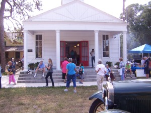 Pioneer Day in Pioneer Park at the Historical Society of Sarasota County