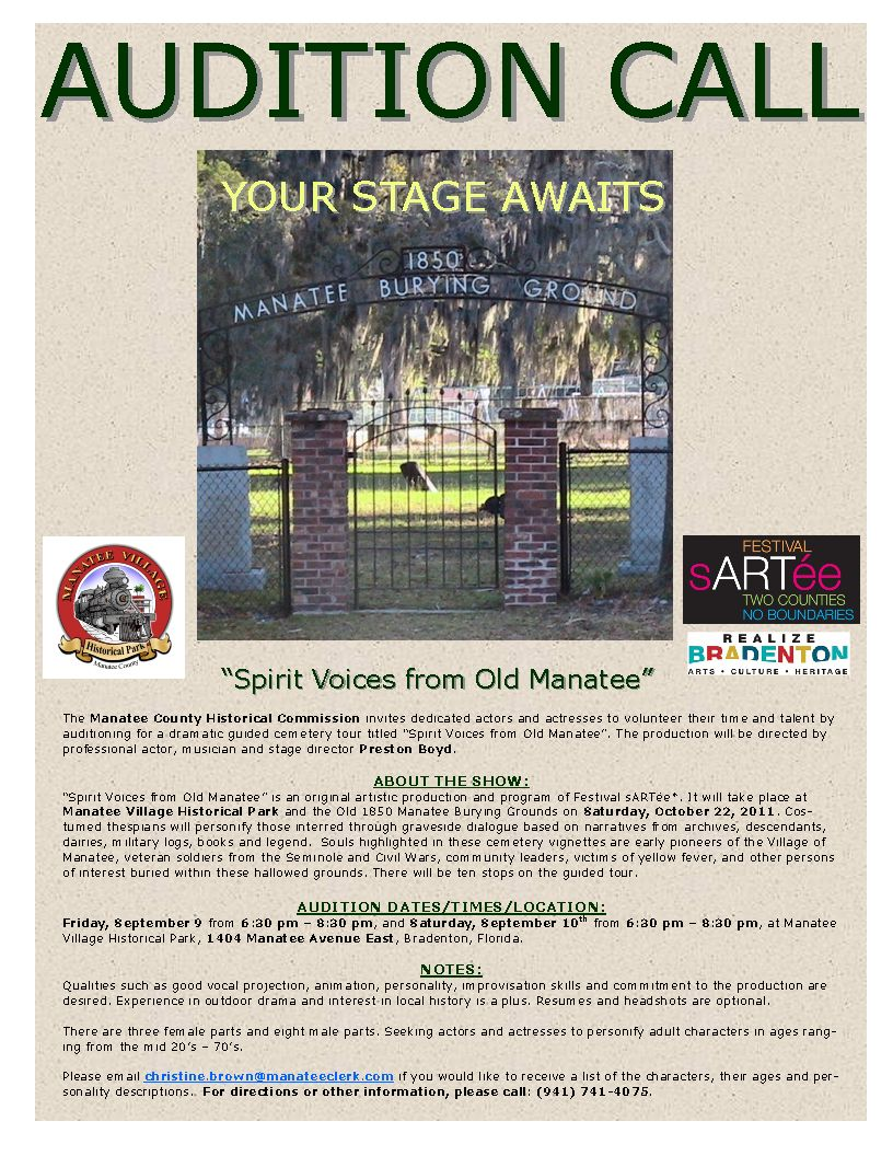 Manatee needs you!