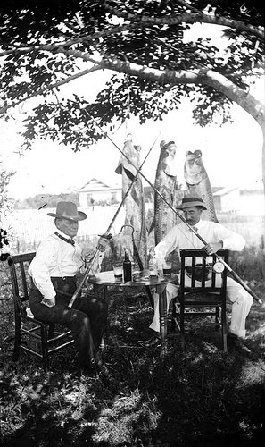 A catch worth catching on film, Sarasota 1903