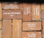 Bricks at Bidwell-Wood House
