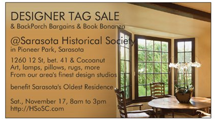 Historical Society of Sarasota's Designer Tag Sale