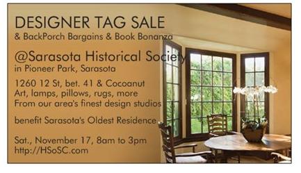 Historical Society of Sarasota's Designer Tag Sale