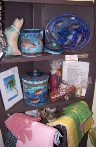 An example of the fine local crafts available in the Gift Shop at the Historical Society of Sarasota County