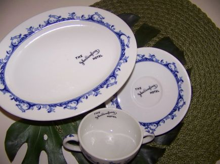 Ringling Hotel china available at the Designer Tag Sale November 17 at the Historical Society of Sarasota County