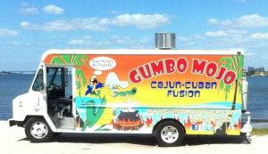 Gumbo Mojo Food TRuck will be at the Designer Tag Sale at the Historical Society on Saturday November 17