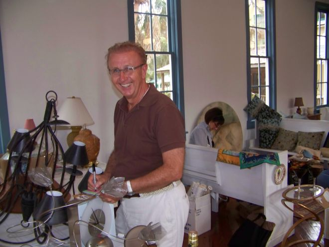 Lamps, throw pillows, and bolts of designer fabric and wallpaper will be featured items at the Designer Tag Sale at the Historical Society of Sarasota County