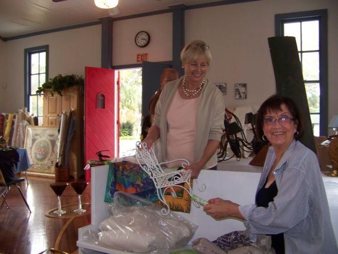 Designer Tag Sale at the Historical Society of Sarasota County will be held Saturday November 17 in the historic Crocker Church