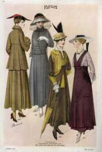 The latest fashions when Sarasota became a city!