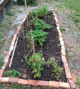 Kitchen garden at the Bidwell-Wood House, Sarasota