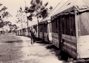 Tent City at Sarasota Army Air Base