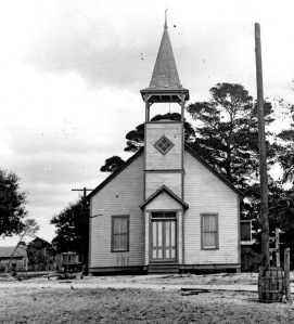 Sarasota Methodist Episcopal Church in Sarasota, 1893