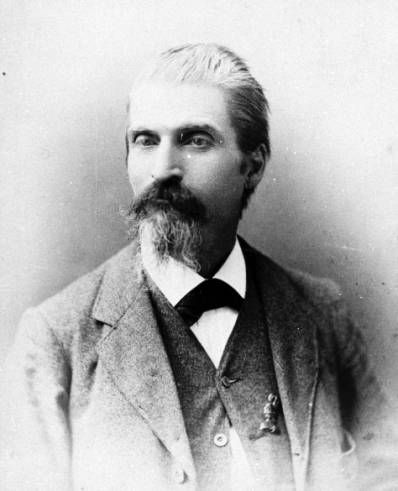 Sarasota Postmaster Charles Abbe