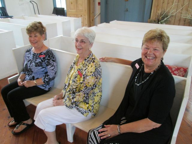 The Woman's Club of Sarasota in the Crocker Church at the Historical Society of Sarasota County.