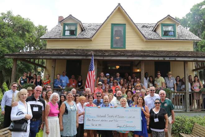 The oldest residence in Sarasota County was visited by the newest addition to our social scene, Tour de SRQ!