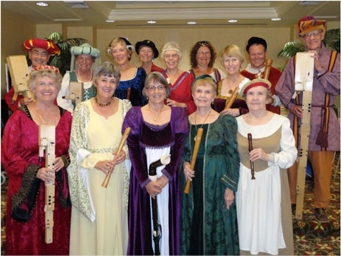 Earlye Musick Consort will perform at Historical Society of Saraspota County on March 22 2016