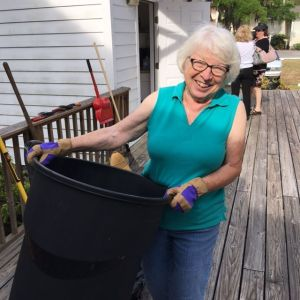 The Historical Society's Landscape Chair, Sue Padden