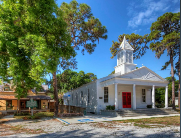 The Historical Society of Sarasota Cpunty's campus in Pioneer Park, captured by Greg Wilson