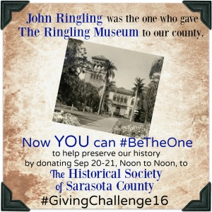 John Ringling was happy to #BeTheOne ... and aren't WE happy HE was!