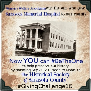 Sarasota Memorial Hospital was the beneficiary of #BeTheOne way back when!