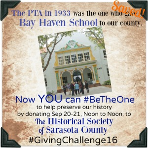 The Bay Haven OTA saved their school all by themselves during The Great Depression