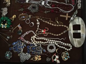 Costume jewelry of all sorts