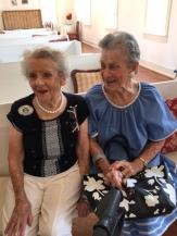 2014 Distinguished Service Awards Recipients Harriet Stieff & Viola Goldberg attend the Annual Meeting 2017