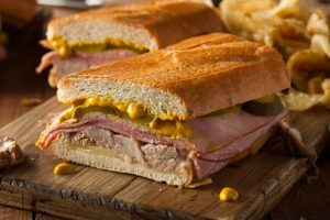 A Cuban sandwich is Florida food