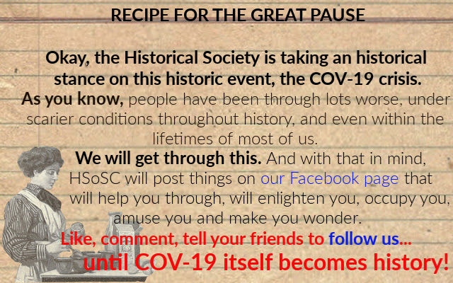 The Historical Society of Sarasota County will hep you through COVID-19
