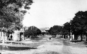 Downtown Sarasota in 1890.