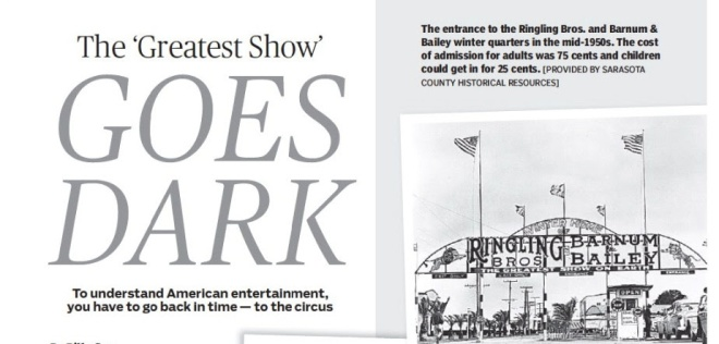 The Greatest Show on Earth... in Sarasota!