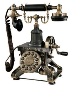 Cool old telephone, probably not in Sarasota though.