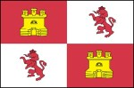 "Cleverly dubbed the ""Castle and Lion"" flag, this was actually the King's flag, since in 1513 there was no national flag of Spain"